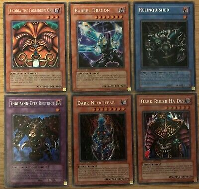 Yugioh - Master Collection Volume 1 - All 6 Cards - All Cards Are M / NM 💎 • 99.99£