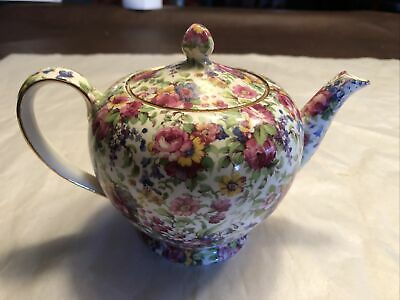 $ CDN240.53 • Buy Vintage Royal Winton Grimwades Summertime Chintz Teapot