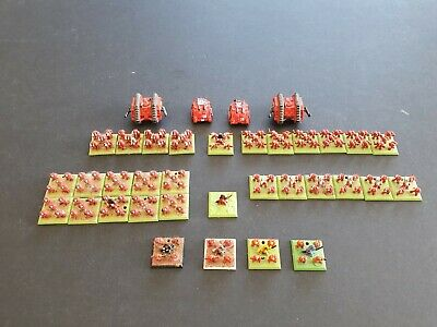WARHAMMER EPIC 40K BLOOD ANGELS ARMY  WELL PAINTED 6mm GW OOP • 48.99£