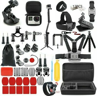 $ CDN49.47 • Buy For Gopro Go Pro Hero 7 6 5 Session 4 SJCAM/Xiaomi Yi EKEN Accessories Kit Mount