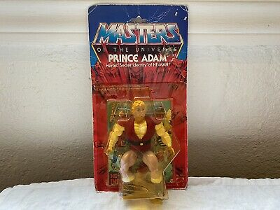 $225 • Buy Prince Adam MOTU Masters Of The Universe 1983 Mattel