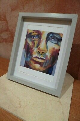 Handsome Male Oil Painting Print Signed Gay Interest • 18£