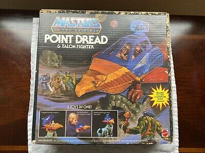 $199 • Buy Point Dread Talon Fighter MOTU Masters Of The Universe 1982 Mattel