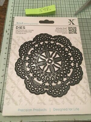 Xcut Large Doily Circle Die Set Ref598a • 5.99£