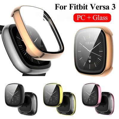 $ CDN5.64 • Buy Tempered Glass Screen Protector Full Cover For Fitbit Versa 3 Smart Watch