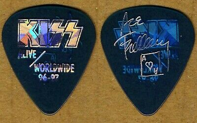 KISS Ace Frehley  Alive/ Worldwide Tour 1996-7  Guitar Pick Authentic Concert • 10.50£