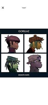 Gorillaz: Demon Days ~LP Vinyl *SEALED*~ • 29.99£