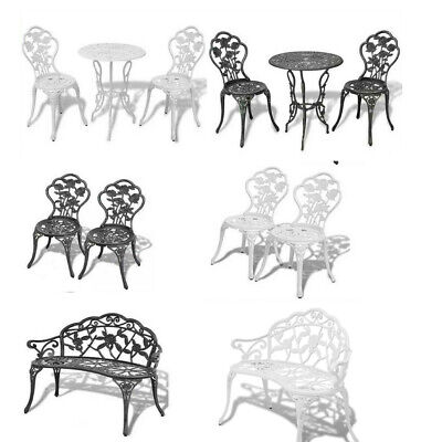 1/2/3Pcs Bistro Sets Table Chair Patio Garden Table Outdoor Dining Furniture NEW • 173.06£