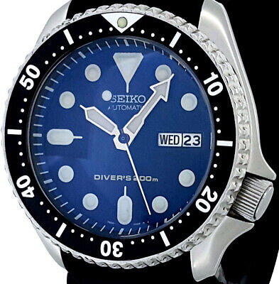 $ CDN121.44 • Buy Vintage Diver Seiko SKX007 Genuine 7S26 Movement, Dial + D-Dome Sapphire Crystal