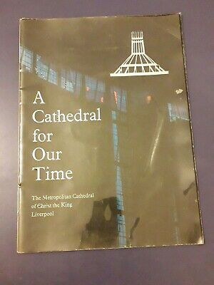 A CATHEDRAL FOR OUR TIME Vintage Guide To Liverpool Catholic 1967 • 4.99£