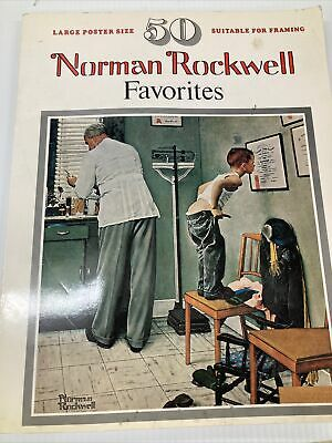 $ CDN18.57 • Buy 1977 NORMAN ROCKWELL Favorites Book 50 Large Posters Suitable For Framing