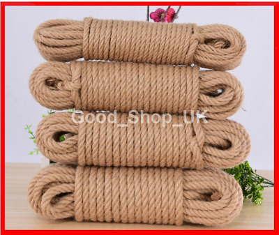Natural Jute Hessian Rope • 4.45£