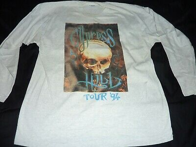 Cypress Hill - 1994 Tour - Genuine Vintage Long Sleeved T-shirt Xl • 100£