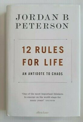 AU24.99 • Buy 12 Rules For Life: An Antidote To Chaos By Jordan B Peterson. Hardcover