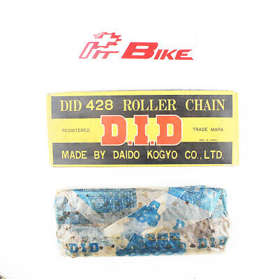 AU44.69 • Buy NOS DID 428 - 112 Links Standard Non O-Ring Daido Roller Chain Made In Japan