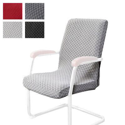 AU25.14 • Buy Computer Seat Slipcovers Stretch Office Chair Cover Knitted Jacquard Washable