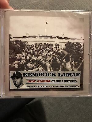 Kendrick Lamar To Pimp A Butterfly CD Sealed • 9.99£