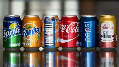 Cold Drinks Can,fizzy Drinks Coca Cola Zero, Fanta, Diet Coke Pack Of 24 330 Ml • 15.95£