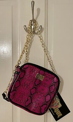 Pauls Boutique Pink And Black Micro/ Mini Shoulder Hand Bag. New With Tags • 5£