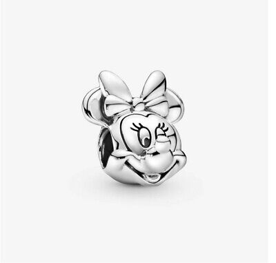 New Genuine S925 Disney Minnie Mouse  Charm S925 + FREE GIFT BAG UK SELLER • 6.95£