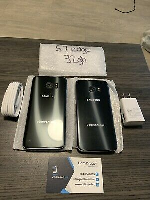 $ CDN220 • Buy Samsung Galaxy S7 Edge G935F 32 GB Black Unlocked