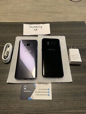 $ CDN230 • Buy Samsung Galaxy S8+ SM-G955U 64GB - Midnight Black (Unlocked)
