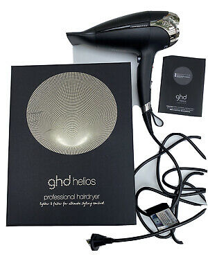 AU180 • Buy GHD Helios Professional Hair Dryer - Black  (open But Never Used)
