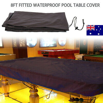 AU26.69 • Buy 8ft Fitted Pool Snooker Billiard Table Dust Cover Waterproof + Drawing String AU
