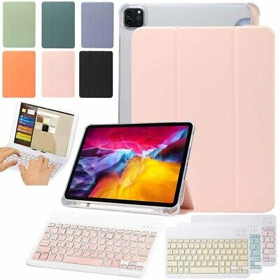 Smart Leather Wireless Keyboard Stand Case Cover For Apple IPad Air 4 10.9 2020 • 10.95£