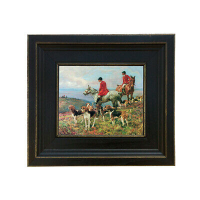 £39.68 • Buy Hunting Scene (c. 1908) Oil Painting Print Reproduction On Canvas