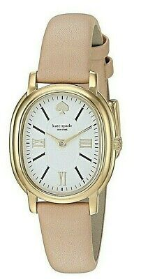 $ CDN75.28 • Buy Kate Spade Ladies Staten Model With Oval Bezel And Nude Leather Watch  Ksw1455