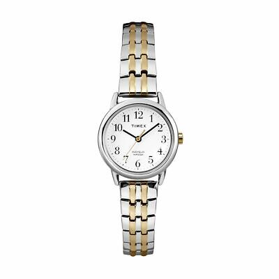 Timex Women's Easy Reader Stainless Watch Silver 25mm Quartz Stainless Band • 0.73£