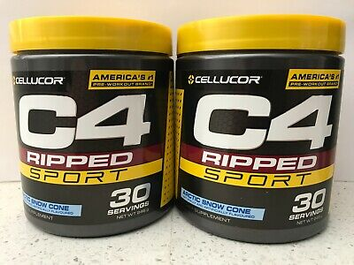 AU40 • Buy 2 X Cellulor C4 Ripped Sport Dietary Supplement 30 Servings