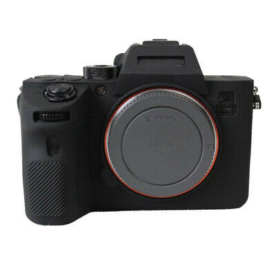 $ CDN10.37 • Buy Soft Silicone Rubber Camera Bag Case Skin For SONY A7RIII A7 Mark 3 A7R3 A7III