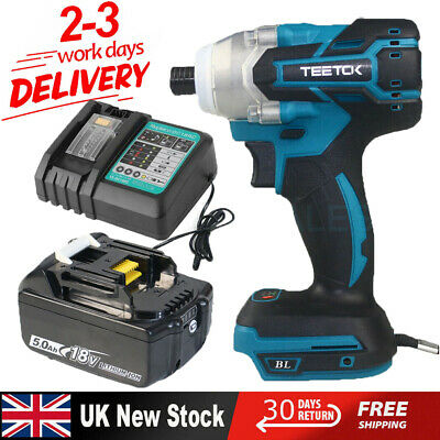 For Makita DTD153Z Cordless Brushless Drill Driver/ 5.0AH Battery / Charger • 53.76£