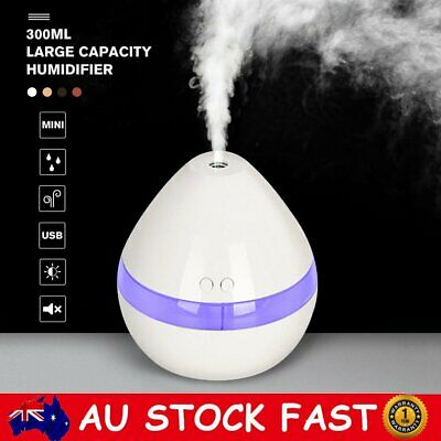 AU22.88 • Buy USB Electric Aroma Air Diffuser Humidifier Essential Oil Aromatherapy Purifier