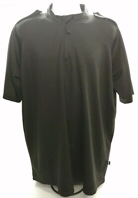 £9.99 • Buy Genuine Ex Police Moisture Wicking Shirt Black T-Shirt Used Obsolete Collectors