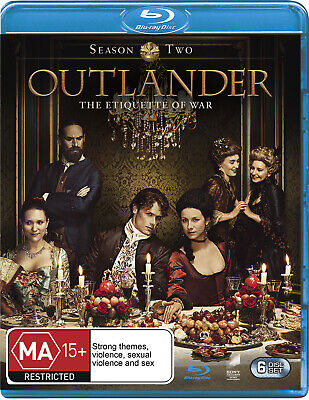 AU27.27 • Buy Outlander - The Complete Second Season (Blu-ray)