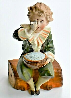 Antique Pears Advertising Figurine Bubbles Bisque Boy Figure 15cm Tall • 39.50£