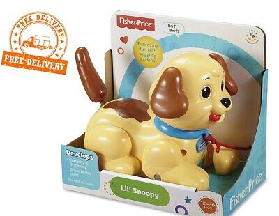 Fisher-Price Lil' Snoopy Pull Along Dog • 15.99£