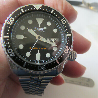 $ CDN130.78 • Buy WATCH SEIKO SCUBA DIVER'S 200mm AUTOMATIC DAY & DATE STAINLESS STEEL RUNNING
