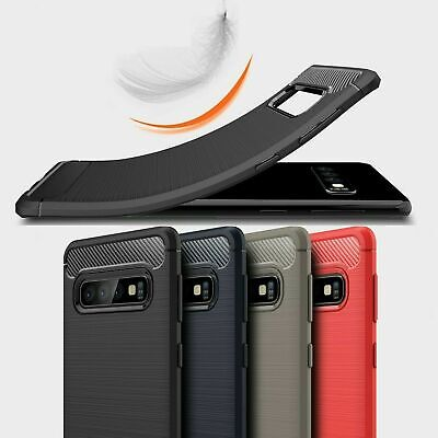 AU5 • Buy For Samsung S10e S10 S10+ Note10 Note10+/5g Carbon Fiber TPU Shockproof Case