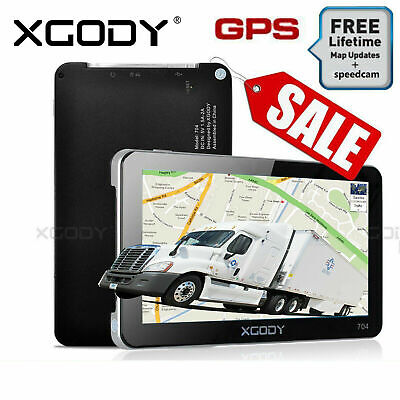 AU69.79 • Buy XGODY 7  Truck & Car GPS SAT NAV Navigation System Navigator Free AU New Map