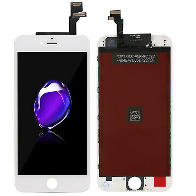 AU20.75 • Buy For IPhone 6G Touch Screen + Display Replacement 4.7'' White Basic Assembly