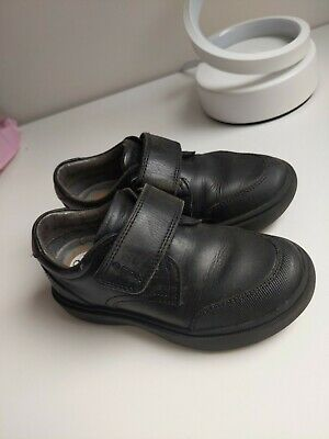 Geox Size 26 Kids School Shoes Black Real Leather (RRP 50£) Lots Of Life • 2.10£