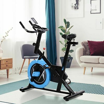 £94.99 • Buy HOMCOM Stationary Exercise Bike Belt Drive Home Gym Cardio With LCD Monitor
