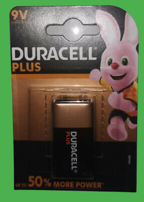 Duracell 9V PP3 Plus Power Batteries Smoke Alarm LR22 MN1604 Longest Expiry • 8.50£