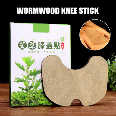 Moxibustion Knee Joint Pain Relief Patch Arthritis Herbal Plaster Wormwood Pad • 5.75£