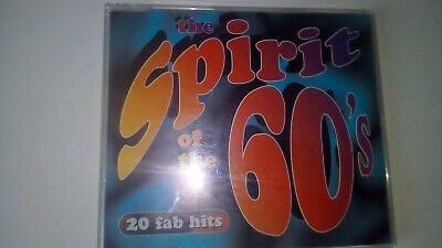 The Spirit Of The 60s - 20 Fab Hits CD Album Time Life TL53131. RARE • 35£