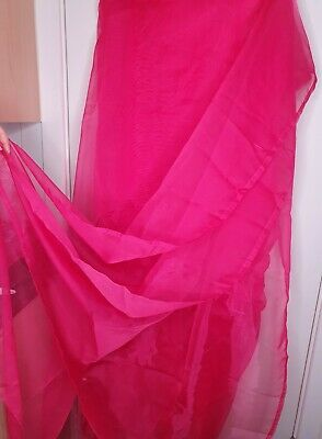 New IKEA 1 Pair Lace Curtains - Pink, 145 X 300 Cm • 18£